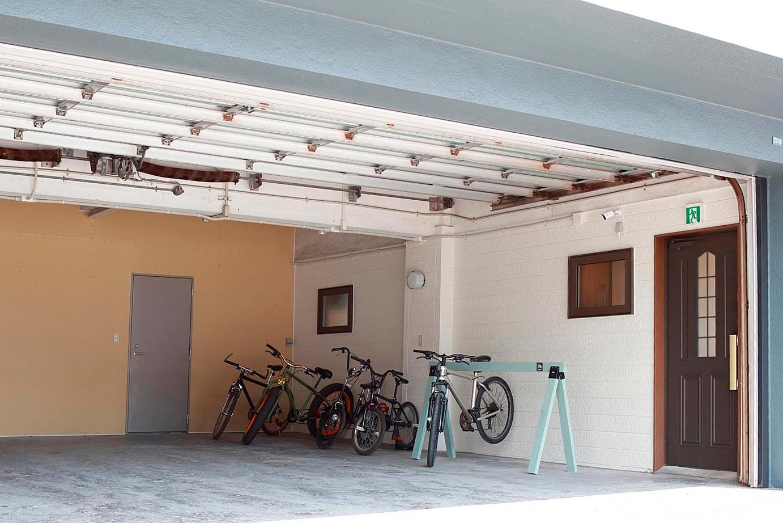 自転車・バイク駐輪場